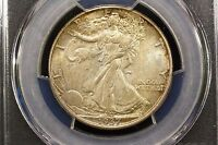 1937 WALKING LIBERTY HALF PCGS MS 64