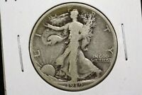 1919 D WALKING LIBERTY HALF VG