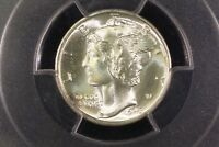 1943 D MERCURY DIME PCGS MS 66 FB