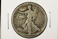 1917 S 50C REVERSE WALKING LIBERTY HALF DOLLAR GOOD