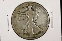 1927 S 50C WALKING LIBERTY HALF DOLLAR VG
