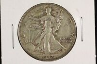 1942 S 50C WALKING LIBERTY HALF DOLLAR XF