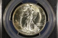 1947 D GEM BU WALKER PCGS MS 65 FLASHY BU