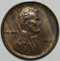 1914-P LINCOLN WHEAT CENT UNCIRCULATED CHOICE [SN02]