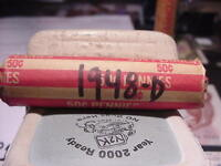 1948-D SOLID DATE  ROLL OF 50 LINCOLN WHEAT CENTS