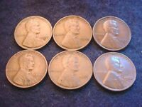 1930 TO 1933 LINCOLN CENT 6 COIN SET-- COINS  3