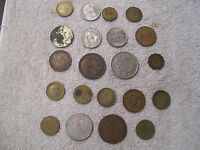1 LOT WORLD COINS 21 COINS