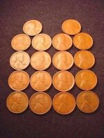 18 COIN SET 1923 TO 1929 GREAT LINCOLN CENT SET---SHIPS FREE   14