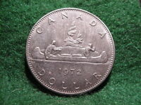 1972  CANADIAN ONE DOLLAR COIN
