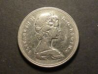 LOWBALL   1968 CANADIAN NICKEL 50 CENT POCKET PIECE SUB VF CONDITION