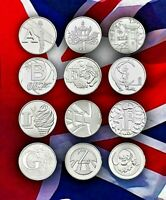 2018 ALPHABET 10P COINS A Z GREAT BRITISH COIN HUNT BU UNCIRCULATED  ROYAL MINT