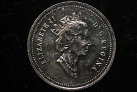 1991 CANADA. 25 CENTS.