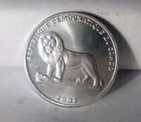 UNCIRCULATED CONGO 25 CENTIMES 2002      FREE SHIP