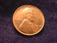 1938-S LINCOLN CENT GREAT BU RED CENT   2
