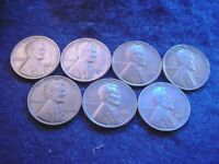 1930 TO 1933 LINCOLN CENT 7 COIN SET-- COINS  22