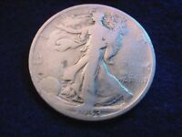 1933-S WALKING LIBERTY HALF DOLLAR  COIN   90