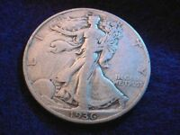 1936-D WALKING LIBERTY HALF DOLLAR  COIN   6