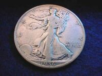 1936-S WALKING LIBERTY HALF DOLLAR  COIN   12