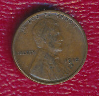 1912-S LINCOLN WHEAT CENT FULL WHEATS SHIPS FREE