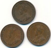 3 KEY DATE 1925 ONE CENT'S CANADA