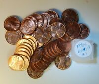 BU 1970 S LINCOLN CENT ROLL  6 24 01