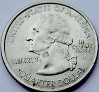 2000   D   UNITED STATES OF AMERICA QUARTER DOLLAR COIN NEW HAMPSHIRE 1788
