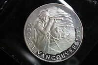 C1971 CANADA. MEDAL. G. VANCOUVER. THE WELLINGS MINT GREAT CANADIANS SERIES.