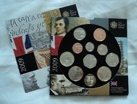 NEW/SEALED COINS 2009 ROYAL MINT UK COIN YEAR SET  BU BUNC
