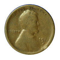 1911 -S  LINCOLN WHEAT CENT PENNY 1C  - ABOUT GOOD AG CONDITION  SP