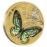 AUSTRALIA 2016 BEAUTIFUL BUTTERFLIES $1 ONE DOLLAR UNC COIN PERTH MINT CARDED