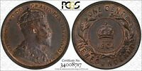 1904 H CANADA / NEWFOUNDLAND. LARGE CENT. PCGS GRADED MS 62 BN.