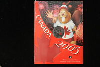 2005 CANADA. 25 CENTS. COLORIZED. MINT SEALED.