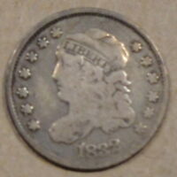 1832 CAPPED BUST HALF DIME  PLEASING LOWER GRADE COIN