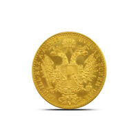 AUSTRIA 1 DUCAT  0.1106 OZ AGQ  GOLD COIN   ABOUT UNCIRCULATED  AU  OR BETTER