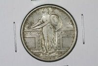 1917 TYPE 1 STANDING LIBERTY QUARTER LUSTROUS CHOICE XF