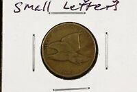 1858 FLYING EAGLE CENT SMALL LETTERS VG