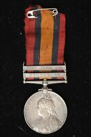 1901 THE QUEEN'S SOUTH AFRICA MEDAL. TRANSVAAL. NORTH STAFFORDSHIRE REGIMENT.