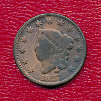 1827 CORONET HEAD COPPER LARGE CENT   BETTER DATE SHIPS FREE