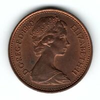 1980 GREAT BRITAIN 1 PENNY