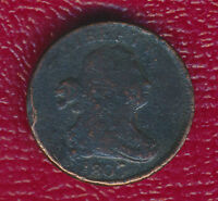1807 DRAPED BUST HALF CENT FANTASTIC TYPE COIN SHIPS FREE