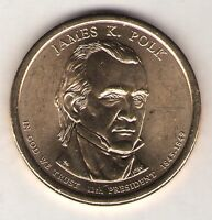 US. 2009-D. JAMES K. POLK. 11TH PRESIDENT. 1845-48 UNC.