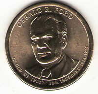 US. 2016-D. GERALD R. FORD. 38TH PRESIDENT 1974-1976 UNC.