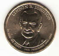 US. 2015-D. LYNDON B. JOHNSON. 36TH PRESIDENT 1963-1968 UNC.