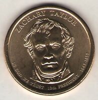 US. 2009-D. ZACHARY TAYLOR, 12TH PRESIDENT. 1849-50 UNC.