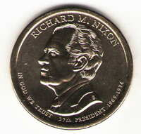 US. 2016-D. RICHARD M. NIXON. 37TH PRESIDENT 1969-1974 UNC.