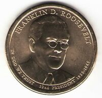 US. 2014-D. FRANKLIN ROOSEVELT 1882-19. 32ND PRESIDENT 1933-1945 UNC.
