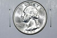 1955 WASHINGTON QUARTER CHOICE BU