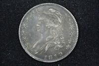 1819 CAPPED BUST HALF O 112 CHOICE XF