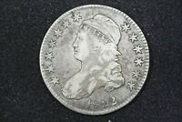 1822 CAPPED BUST HALF O 110 CHOICE VF