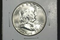 1952 D FRANKLIN HALF CHOICE BU